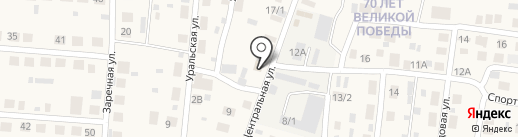 Лагуна на карте Весеннего