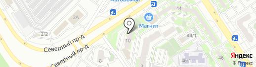 Центр ремонта на карте Оренбурга