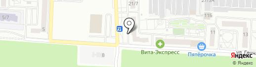 УПСК Жилстрой на карте Оренбурга