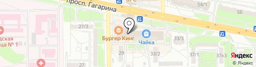 ОренСейф на карте Оренбурга