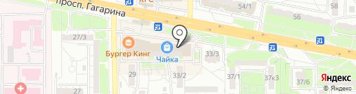Чайный домик на карте Оренбурга