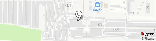 МегаТон на карте Оренбурга