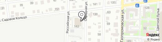 Бирквелле на карте Оренбурга