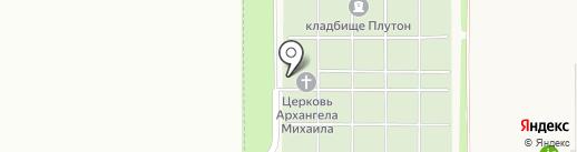 Фирма ритуальных услуг на карте Пригородного