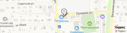 Пятерочка на карте Пригородного