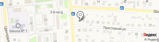 Велес на карте Пригородного