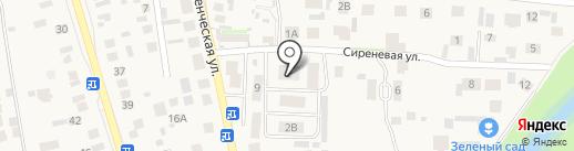Адвокатский кабинет Глебовой Ю.И. на карте Пригородного