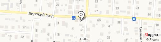 Кружка на карте Пригородного