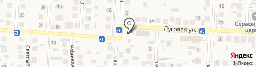 Эльф на карте Пригородного