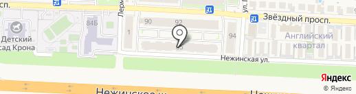 Результат на карте Пригородного