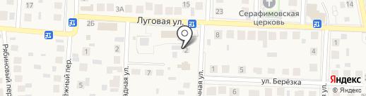 Дельта на карте Пригородного