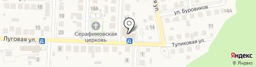 Магнит на карте Пригородного