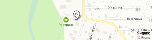 Кентаврик на карте Пригородного