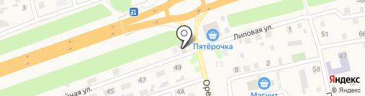 Шиномонтаж на карте Нежинки