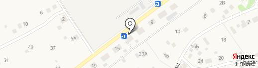 Конец-Борский фельдшерско-акушерский пункт на карте Краснокамска