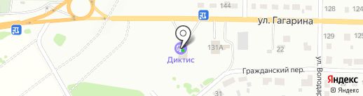 Автокомплекс на карте Краснокамска