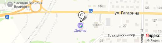 АЗС на карте Краснокамска