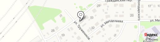 Ильюшенко на карте Краснокамска