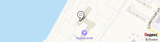 Банкомат, Западно-Уральский банк на карте Усть-Качки