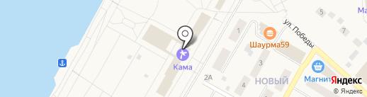 Банкомат, КБ Петрокоммерц, ОАО, филиал в г. Перми на карте Усть-Качки