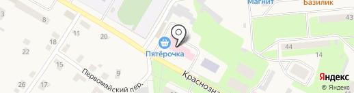Пятёрочка на карте Усть-Качки