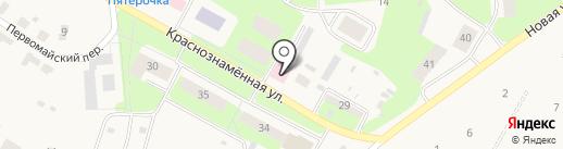 Усть-Качкинская сельская врачебная амбулатория на карте Усть-Качки