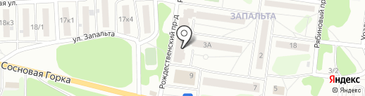 Центральная районная библиотека на карте Краснокамска