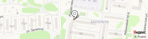 Участковый пункт полиции на карте Краснокамска