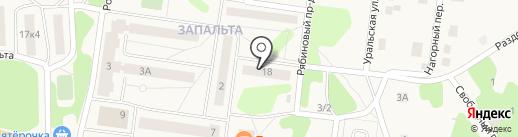 Ассоль на карте Краснокамска