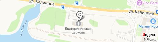 Храм Святой Великомученицы Екатерины на карте Краснокамска