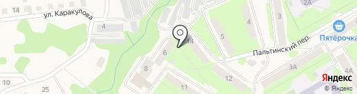 Гознак-1, ТСЖ на карте Краснокамска