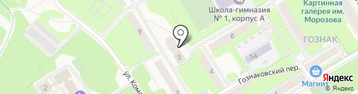 Адвокатский кабинет Бушуева А.С. на карте Краснокамска