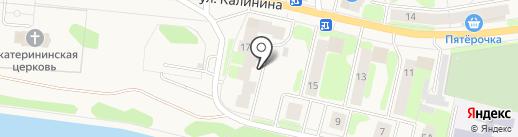 Промснаб на карте Краснокамска