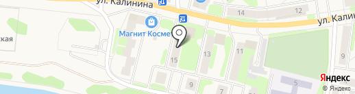 Почтовое отделение №6 на карте Краснокамска