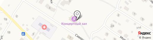 Черновская сельская библиотека на карте Черной