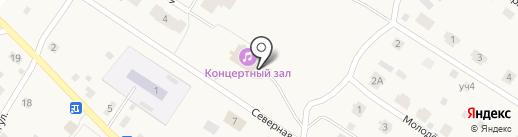 Продовольственный магазин на карте Черной