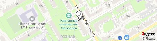 Доступное жилье на карте Краснокамска