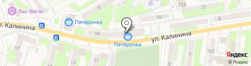 Добрыня на карте Краснокамска