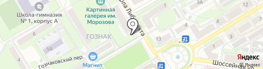 Кадастровый инженер Бражникова Т.В. на карте Краснокамска