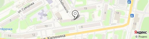 Единый Расчетный Центр на карте Краснокамска