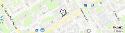 Магазин-ателье на карте Краснокамска