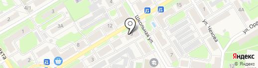Ремонтная компания на карте Краснокамска