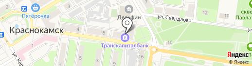БАЗА САНТЕХНИКИ на карте Краснокамска