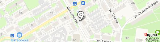 Агентство страхования на карте Краснокамска