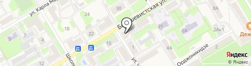 Домофон-плюс на карте Краснокамска
