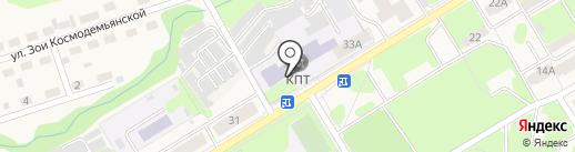Краснокамский политехнический техникум на карте Краснокамска
