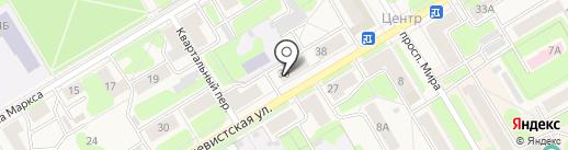 Стиль на карте Краснокамска