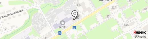 Общежитие на карте Краснокамска