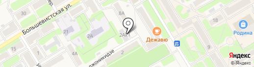 Теплосеть г. Краснокамска на карте Краснокамска