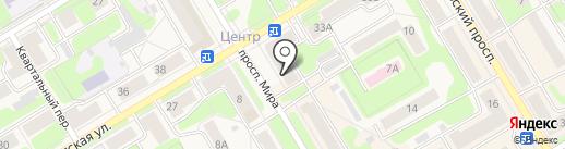 Эстель на карте Краснокамска